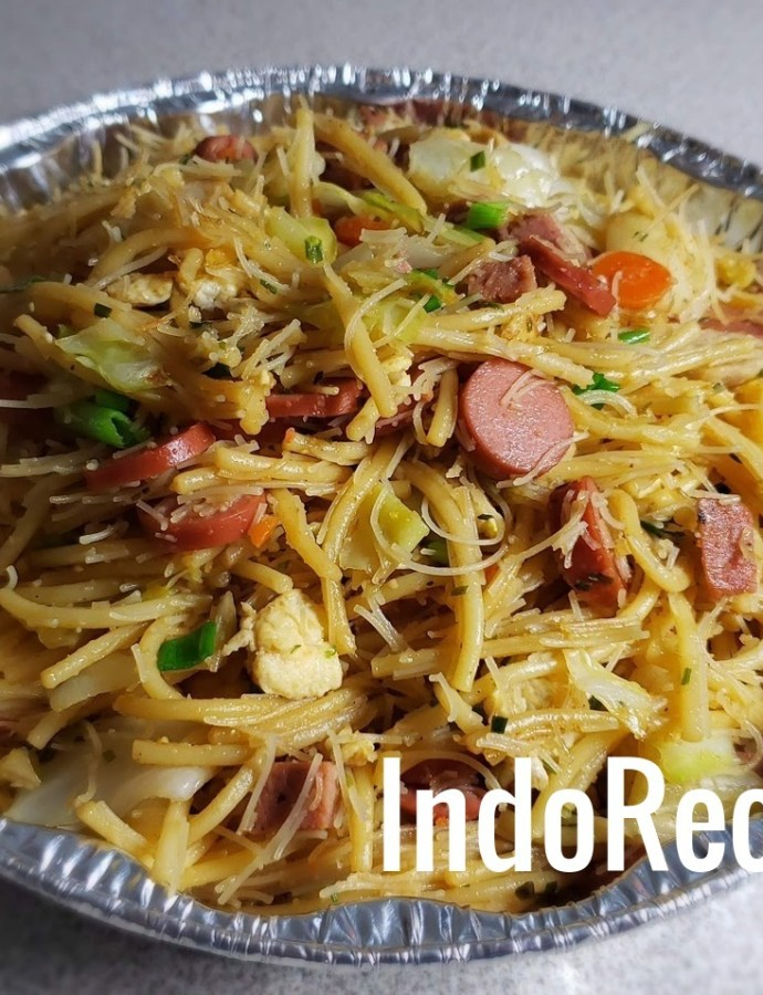 Magelangan (Indonesian Fried Noodles)
