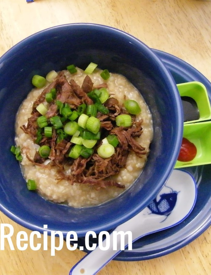 Pulled Moose Congee