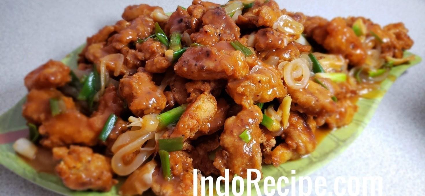 Sweet and Sour Chicken (Ayam Kuluyuk)