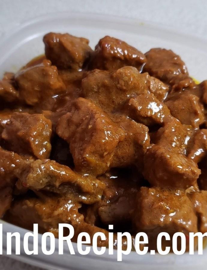 Beef Stew (Rendang Jawa)