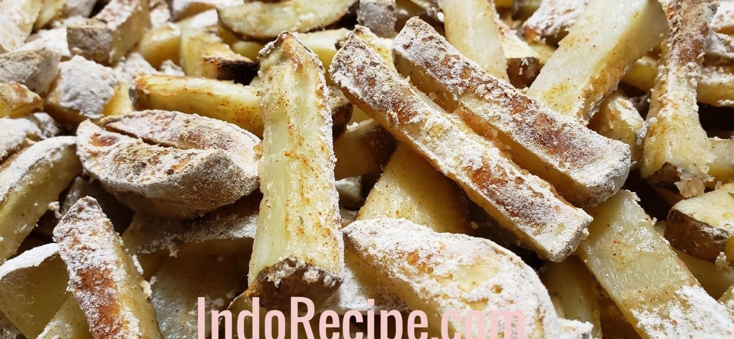 Potato Wedges (Kentang Bumbu)
