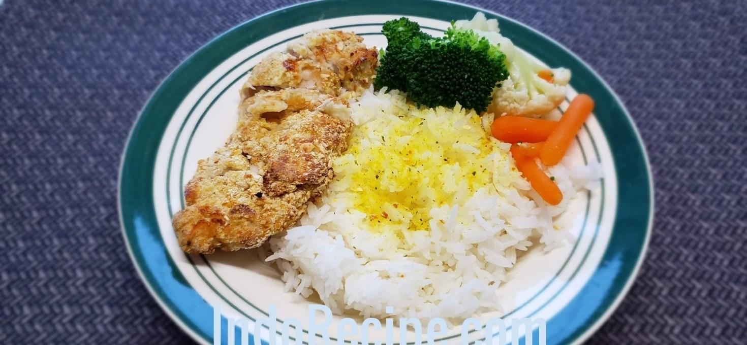Air Fry Breaded Chicken