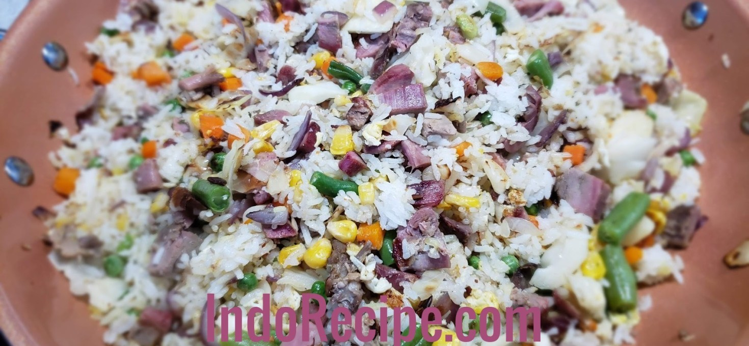 Super Simple Duck Fried Rice