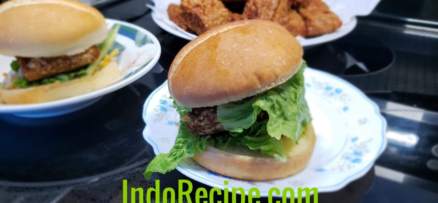 Easy Healthy Cooking: BBQ Tempeh Burger