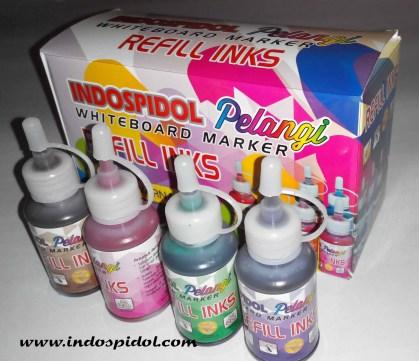 Tinta refil Spidol Whiteboard Indospidol Pelangi