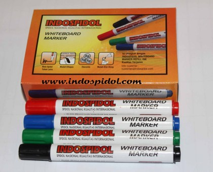 Spidol Boarmarker Indospidol isi 12 pcs