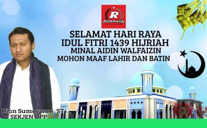 Sekjen Posraya Indonesia: Buah Ramadhan Politik Sehat Menuju Pilpres 2019
