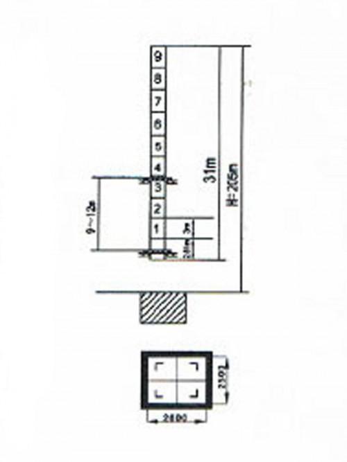 Jual & Sewa Jiang Lu Tower Crane tipe QTZ160f di Indonesia