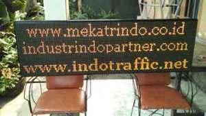 Running Text - Teks Berjalan - PT. Firza Meka Trindo - indotraffic.net