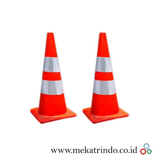 Kerucut Traffic Cone - Perlengkapan Lalu Lintas - Mekatrindo
