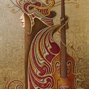 скрипка violina