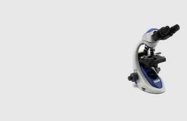 Optical Microscope Grey bakcground