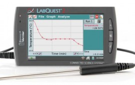 Vernier Labquest2 with Stainless Steel Temperature Probe