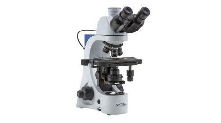 Binocular microscope E-PLAN IOS objectives, with Automatic Light Control