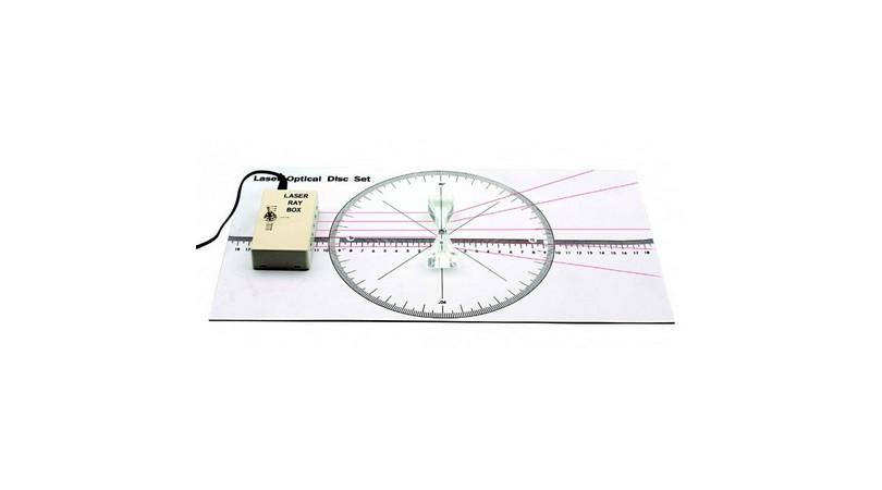 Geometrical Optics Kit with Laser Ray Box