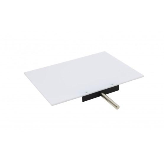 Plexiglas White Screen 250X190X4mm