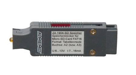 ALMEMO® Memory Connector With Micro SD Card