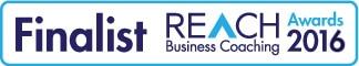 Reach Business Coaching Award Finalist 2016