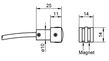 NiCr-Ni Sensor FTA025P