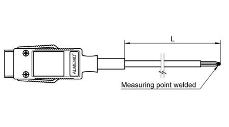 NiCr-Ni Sensor FTA390x