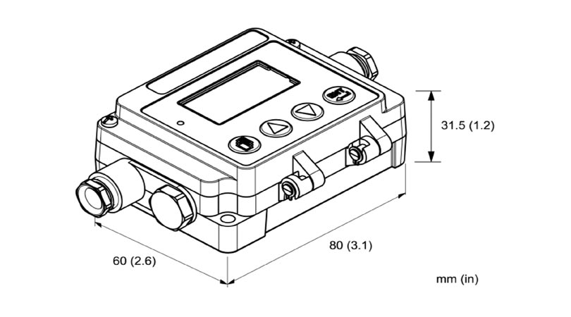 Infrared Transmitter for Measuring Surface Temperature