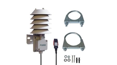 Digital Sensor for Temperature, Humidity, Atmospheric Pressure in Protective All-Weather Housing
