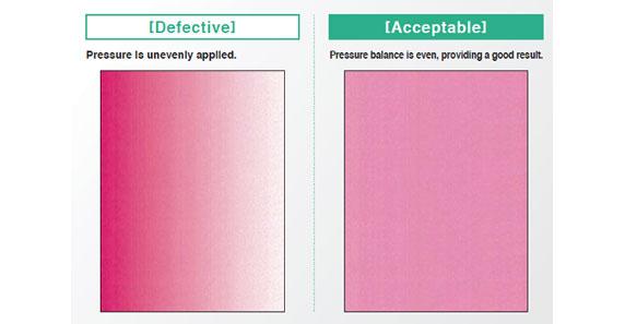 Pressure Film Film Attachment Application Results