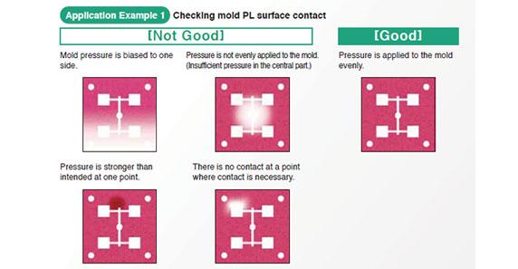 Pressure Film Mould Adjustment Application Results