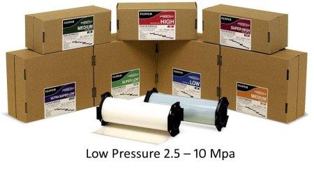 PF1LWR Pressure Film Low Pressure 2.5 - 10 Mpa