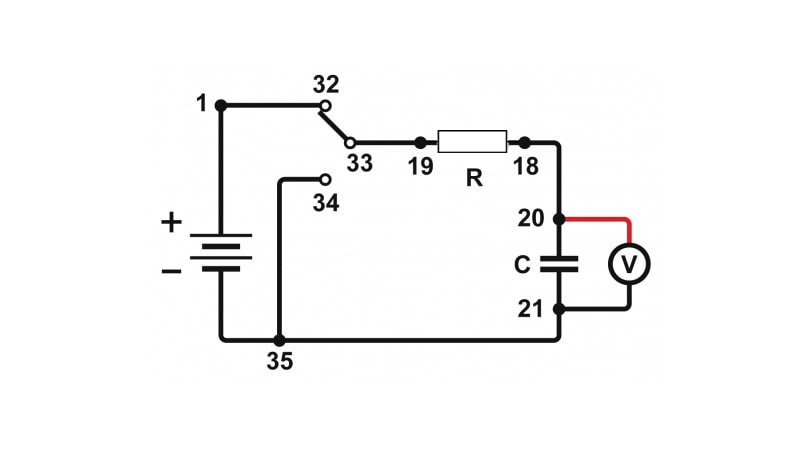 How To Measure Voltage In Capacitor