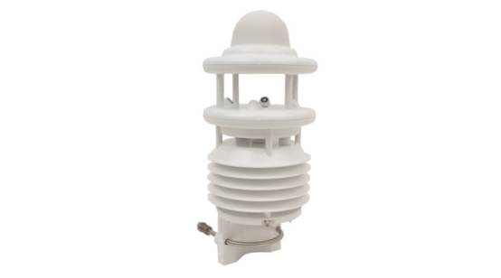 Compact meteorological transducer