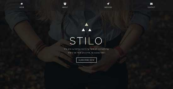 Stilo-Responsive-Coming-Soon-Page