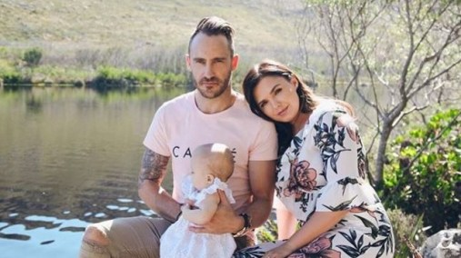 Faf Du Plessis Wife shares emotional post after his on-field collision during PSL game