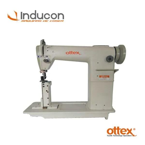 Foto de máquina de poste doble aguja de diente Ottex 16decd3200e