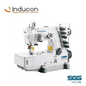 Foto de una maquina recubridora ShangGon doble funcion modelo GK562D-02DN