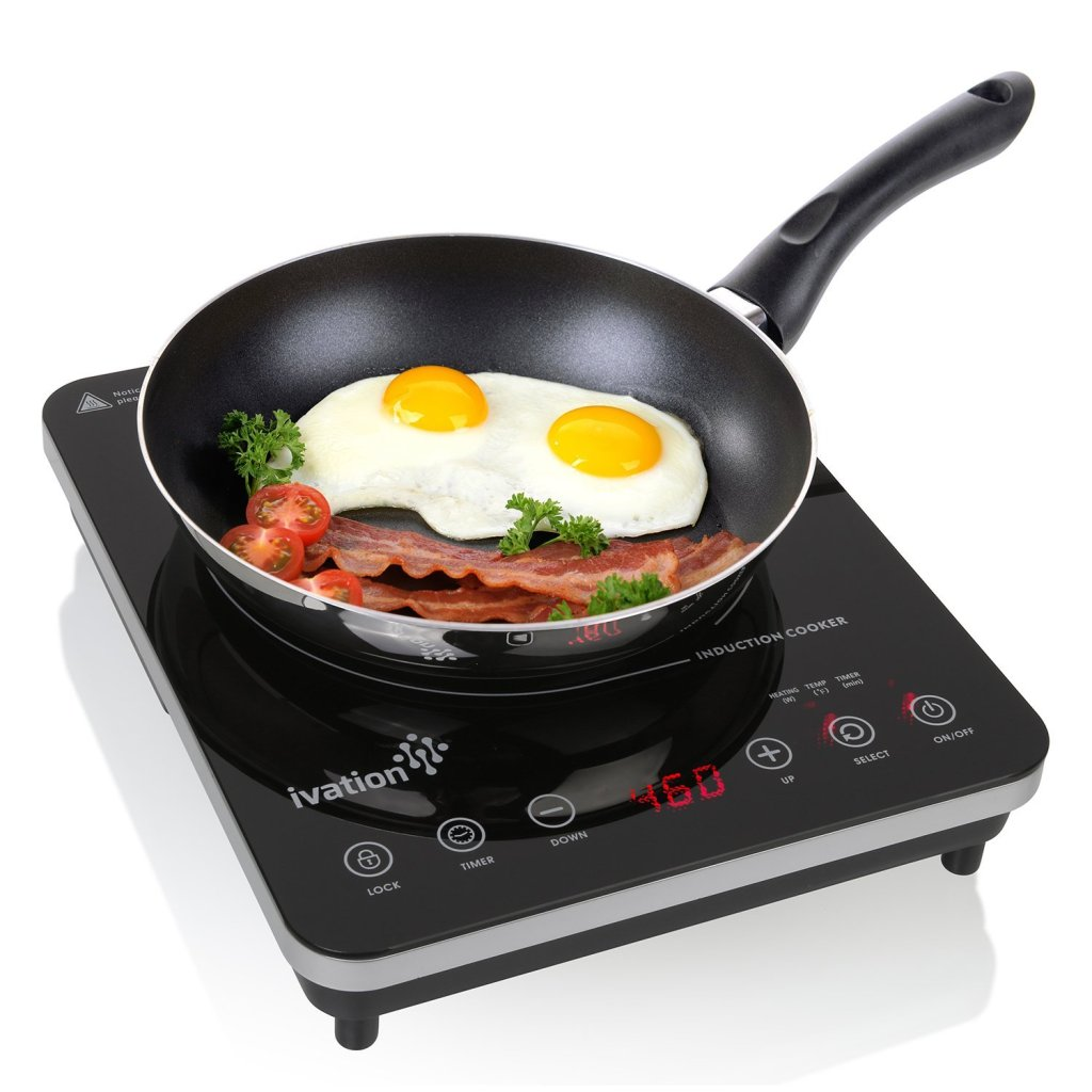 Review – Ivation 1800 Watt Portable Induction Countertop Cooktop