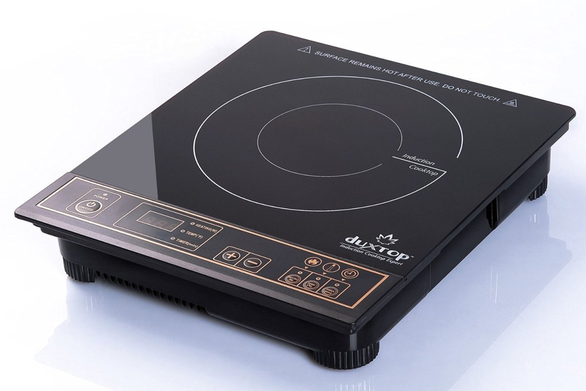 Duxtop 8100MC – 1800 Watt Induction Cooktop with Countertop Burner