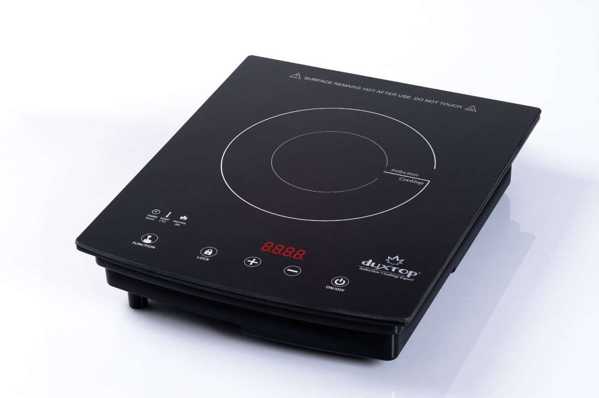DUXTOP 8300ST-Sensor Touch Panel Induction Cooktop with Countertop Burner