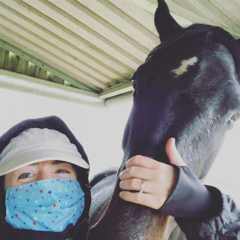 Equestrian Lives in Lockdown. Raquel in California, USA.