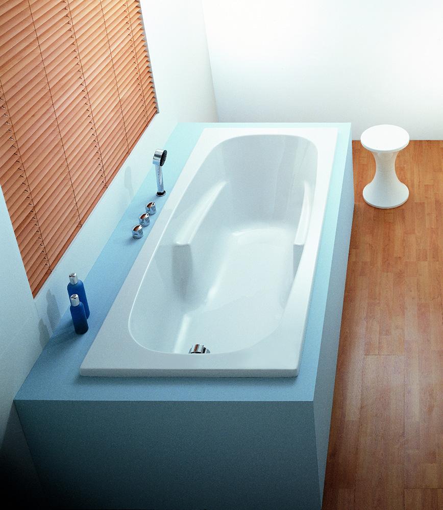 baignoires simples encastrables d