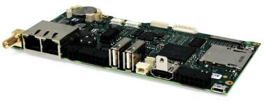 SBC con ARM Cortex-A9 y Wi-Fi