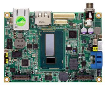 Placa madre Pico-ITX para appliances embebidas
