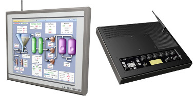 Panel PC IP65 de acero inoxidable