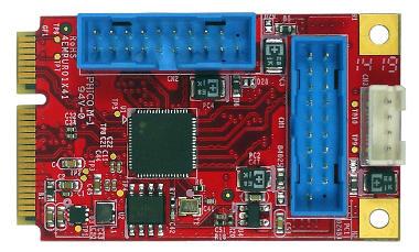 Tarjetas USB para sistemas industriales