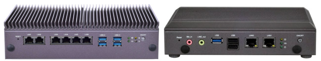 PCs industriales fanless