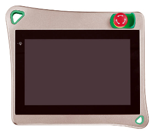 Panel PC colgante con tecnología PCAP