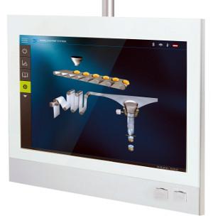 Panel operativo multitáctil