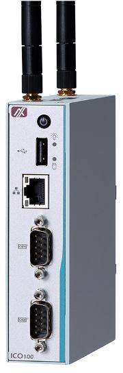 Gateway compacto IIoT de carril DIN