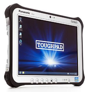 Tableta rugerizada con tecnología RTK-GNSS