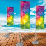 display flag personalizzate salerno